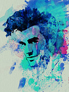 Rock Band Paintings - Morrissey by Irina  March