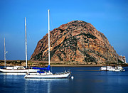 Restful Digital Art - Morro Bay by Camille Lopez