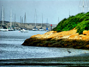Morro Bay Prints - Morro Bay Print by Ernie Echols