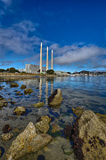 Pacific Ocean Prints - Morro Bay Power Plant Print by Scott Campbell