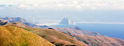 Morro Bay Rock Vista Overlooking Highway 46 Paso Robles California Print by Artist and Photographer Laura Wrede