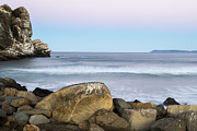 Terry Garvin Prints - Morro Rock Morning Print by Terry Garvin
