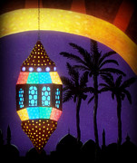 Karyn Robinson Metal Prints - Morrocan Nights Metal Print by Karyn Robinson