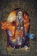 Orthodox Painting Originals - Mors Santi by Ricardo Chavez-Mendez