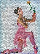 Mosaic Ballerina Print by Nina Bradica