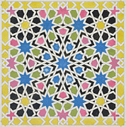 James Cavanagh Murphy - Mosaic design from the Alhambra