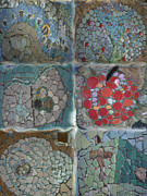 Featured Ceramics - mosaic G to H by Cigler Struc