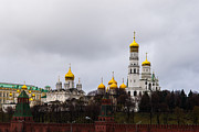 Archangel Photo Prints - Moscow Kremlin Cathedrals - Featured 3 Print by Alexander Senin