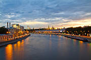 Sky Photos - Moscow Kremlin in the Evening by Viacheslav Savitskiy