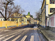 Moscow Digital Art - Moscow Old Streets 17 by Yury Malkov