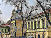Moscow Digital Art - Moscow Old Streets 19 by Yury Malkov