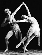 Ballet Dancers Metal Prints - Moscow Opera Ballet Dancers Metal Print by Underwood Archives