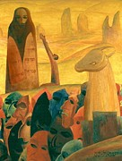 Israel Tsvaygenbaum - Moses and the Masks