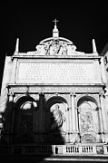 Dell Photo Acrylic Prints - Moses Fountain Fontana dell Acqua Felice Rome Lazio Italy Acrylic Print by Joe Fox