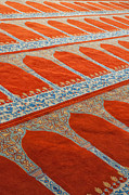 Medieval Temple Art - Mosque carpet by Antony McAulay