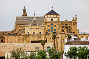 Great Mosque Prints - Mosque Cathedral of Cordoba in Spain Print by Artur Bogacki