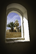 Next To Tree Posters - Mosque through the Window Poster by Evgeny Subbotsky