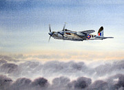 Bomber  Painting Prints - Mosquito  Print by Bill Holkham