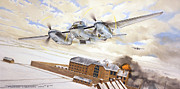 Amiens Metal Prints - Mosquitoes Over Jericho Metal Print by Marc Stewart