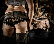 Torment Prints - Most Wanted Print by Steven Walker