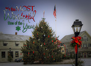 Kennebunkport Art - Most Wonderful Christmas by Brenda Giasson