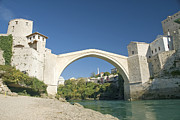 Mostar Photos - Mostar Bridge In Bosnia by Jacek Malipan