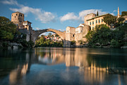 Mostar Framed Prints - Mostar Bridge Framed Print by Okan YILMAZ