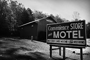 Kelly Hazel - Motel Sign in Black and...