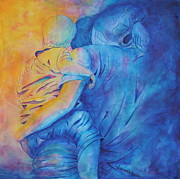 Jaswant Khalsa - Mother and Child