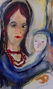 Judith Desrosiers - Mother and child