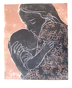 Lila Oliver Asher - Mother and Child