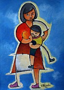 Child Care Originals - mother and childs care II by Hermel Alejandre