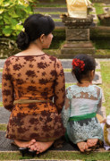 Southeast Asian Prints - Mother and Daughter Print by Rick Piper Photography
