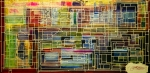 Maze Mixed Media Originals - Mother Board by Jack Diamond