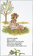 Mother Goose, 1881 Print by Granger