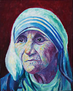 Mother Teresa Framed Prints - Mother Framed Print by Sangeeta Charan
