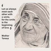 Chris Greenwood - Mother Teresa Card