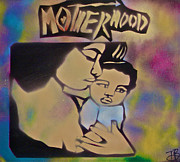 Tony B Conscious Art - Motherhood 2 by Tony B Conscious
