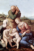 Holy Family Photos - Motherhood by Munir Alawi
