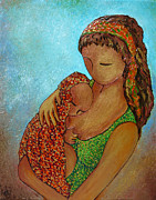 Gioia Albano - Motherhood painting Just...
