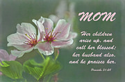 Mothers Day Card For Mom Print by Sandi OReilly