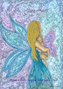 Diana Haronis Posters - Mothers Day Fairy Poster by Diana Haronis