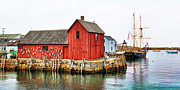 Pirate Ship Photo Posters - Motif Number 1 Rockport MA Poster by Jack Schultz