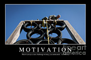 Motivation Inspirational Quote Print by Stocktrek Images