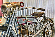 Harley Davidson Photos - Motorcycle - 1913 Harley Davidson 9A by Paul Ward