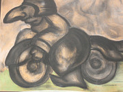 Motorcycle Pastels - Motorcycle Monk by Dedo Cristina