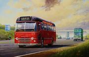 Motorway Express 1959. Print by Mike  Jeffries