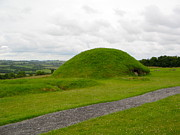 Kerb Framed Prints - Mound at Knowth Framed Print by Denise Mazzocco