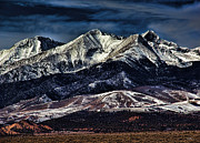 Jon Burch Metal Prints - Mount Blanca Metal Print by Jon Burch Photography