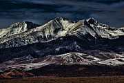 Colorado Mountains Framed Prints Prints - Mount Blanca Print by Jon Burch